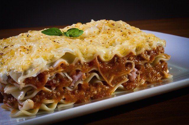 Lasagne maison sauce bolognaise