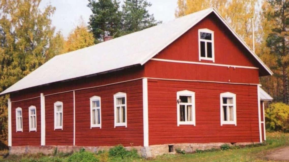 Peinture rouge de falun